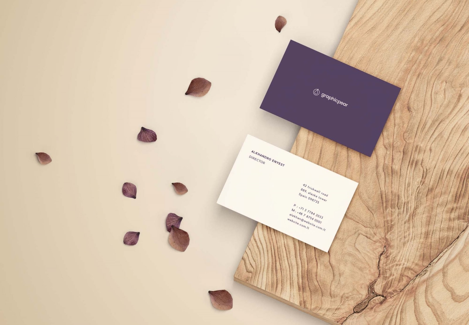 Free front and back business card mockup psd freebiedesign free front and back business card mockup psd colourmoves