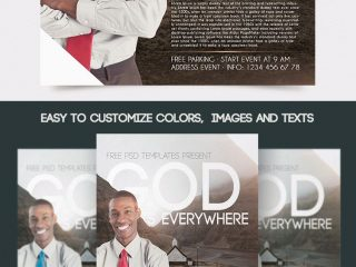 FREE CHURCH FLYER IN PSD