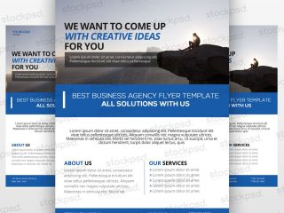 Event Business Presentation Free PSD Flyer Template