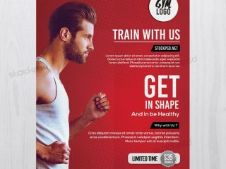 Fitness & Gym – Free PSD Flyer Templete