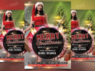 Merry Christmas 2017 – FREE PSD Flyer