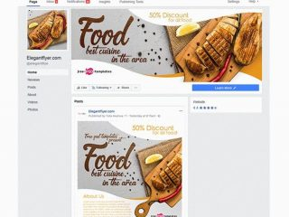 FREE FOOD FACEBOOK COVER