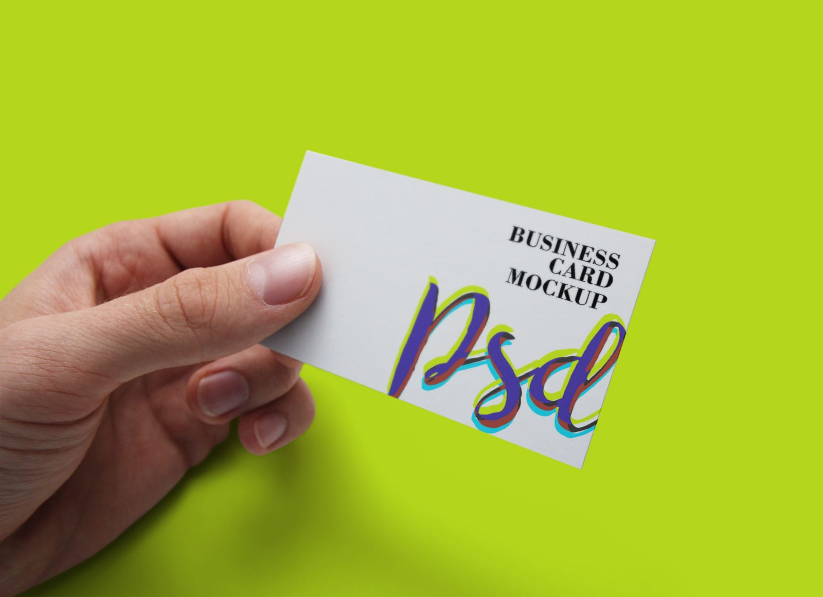 Free realistic business card mockup psd freebiedesign free realistic business card mockup psd reheart Images