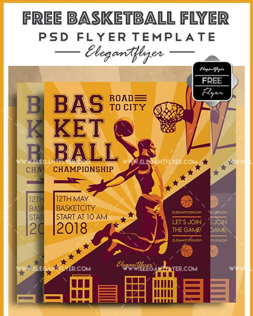 30 premium and free sports flyer psd template for sports and