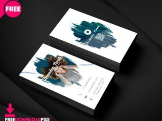 Free Professional Photographer Bussiness Card Template