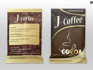 FREE DOWNLOAD CLOTHING COCOA POUCH PACKAGING MOCKUP