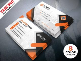 Free Business Cards Design Templates PSD