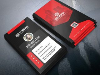 Free Vertical Business Card Designs PSD