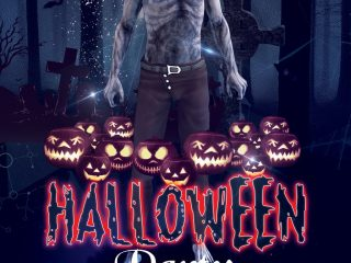 Halloween Party – Free PSD Flyer/Poster Template