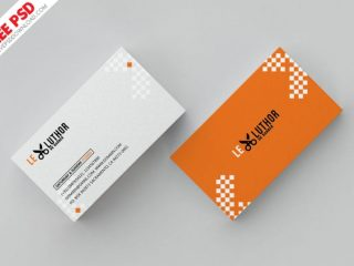 Free Barber Business Card Psd