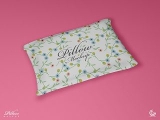 Free PSD Pillow Mockup For Presentation 2018