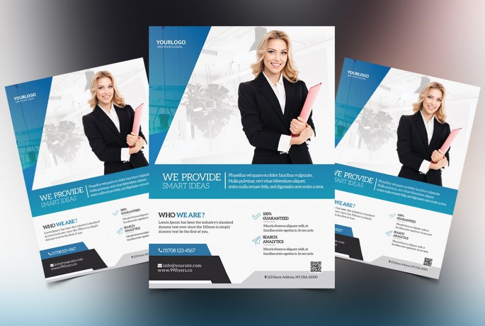 Creative Marketing Business Free PSD Flyer Template