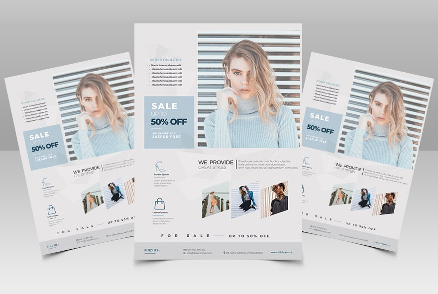 Fashion LifeStyle Free PSD Flyer Template