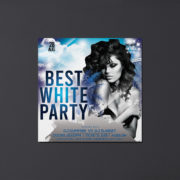 White Party Free PSD Flyer Template