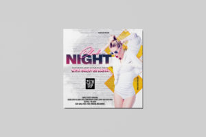 Club Night Freebie PSD Flyer Template