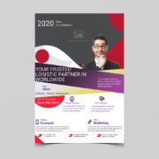 Business Creative Corporate Free PSD Flyer Template