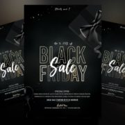 Black Friday Fashion Sale Free Flyer PSD Template