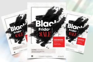 Black Friday Sales Free PSD Flyer Template