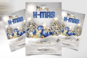 Merry Xmas Freebie PSD Flyer Template