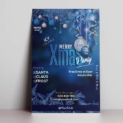 Merry Xmas Party Freebie Flyer PSD Template