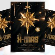 XMAS Time Flyer Free PSD Template