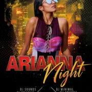 Arianna Night Club Free PSD Flyer Template