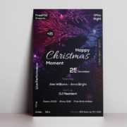 Christmas Moment Free PSD Flyer Template