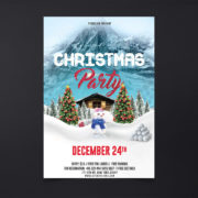Party XMas Free PSD Flyer Template