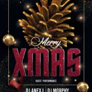 Merry XMAS Free PSD Flyer Templates