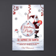 XMAS Day Event Free PSD Flyer Template
