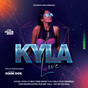 Live Performance Night Free PSD Flyer Template
