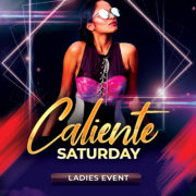 Caliente Saturday Free PSD Flyer Template