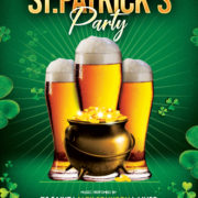 Saint Patricks Event Free Psd Flyer Template