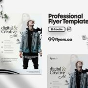 Digital Photography Free PSD Flyer Template