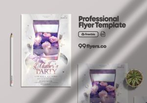 Happy Mother's Day Event Free PSD Flyer Template