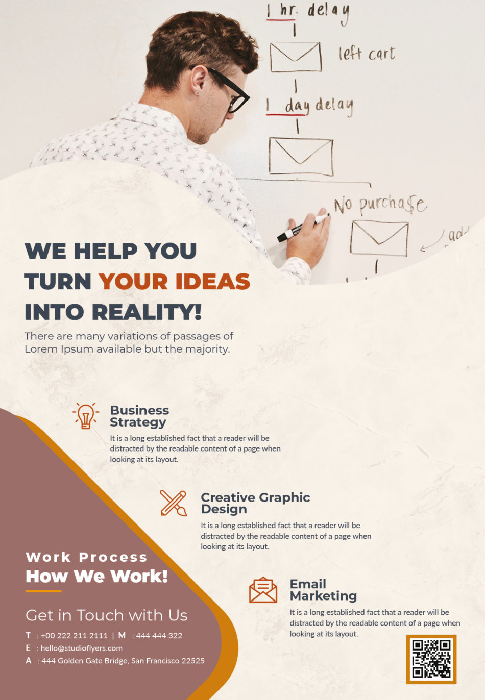 Business & Corporate Free PSD Flyer Template