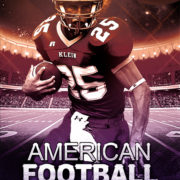 American Football Free PSD Flyer Template