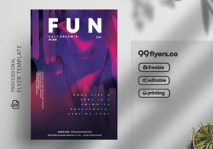 Club Party - Free PSD Flyer Template Vol2