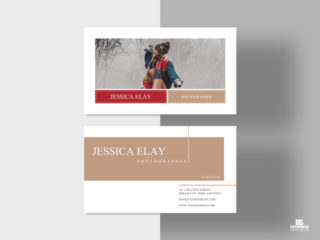 Creative Photography Business Card Free PSD