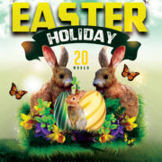 Easter Event Free PSD Flyer Template
