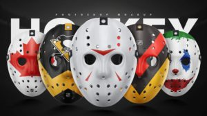 Hockey Mask Face Free Mockup