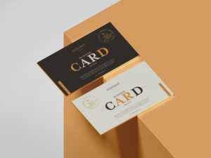 Brand Business Card Free PSD Mockup