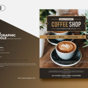 Coffe Shop Freebie PSD Flyer Template