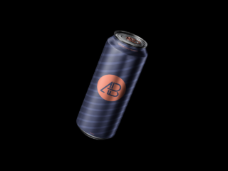 Floating Can Free PSD Mockup