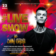 Live Show Perfomance Free PSD Flyer Template