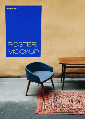 Poster Mockups Free PSD Template