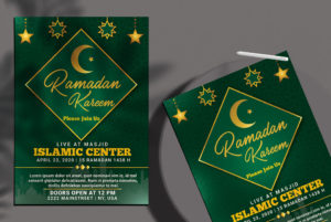 Iftar Event Free PSD Flyer Template