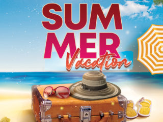 Summer Time Flyer Free PSD Template