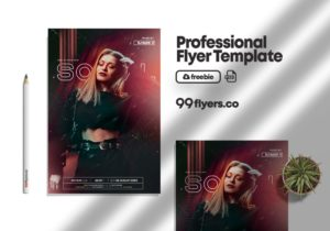 Sunday Event Flyer Freebie PSD Template