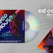 Dj Mixtape CD Cover PSD Free Template